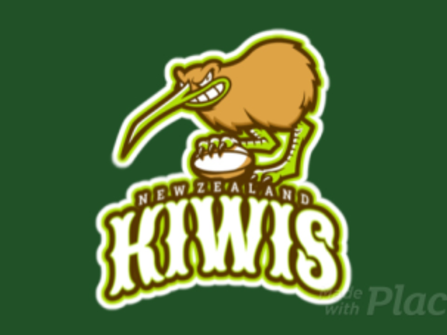 Animated Sports Logo Template Featuring a Fierce Kiwi Bird 1616n-2932