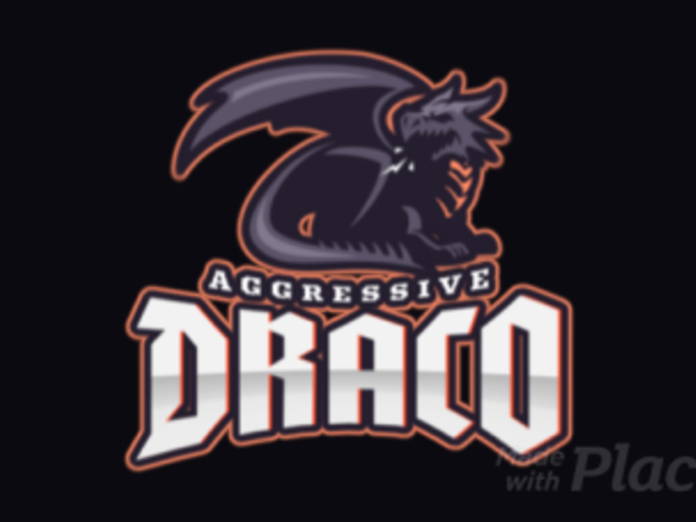 Animated Gaming Logo Maker Featuring an Aggressive Dark Dragon 2689o-2927