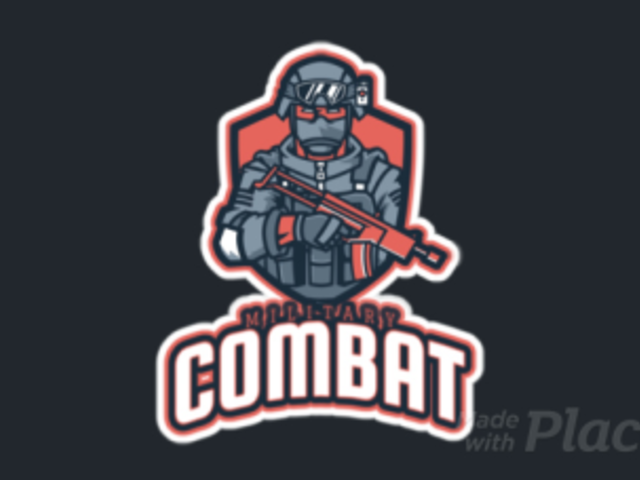 Animated Gaming Logo Template Featuring a Military Shooter 2663s-2930