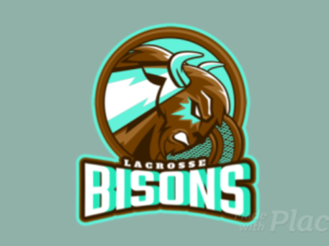 Animated Logo Creator for a Lacrosse Team with a Bison Graphic 1748y-2932