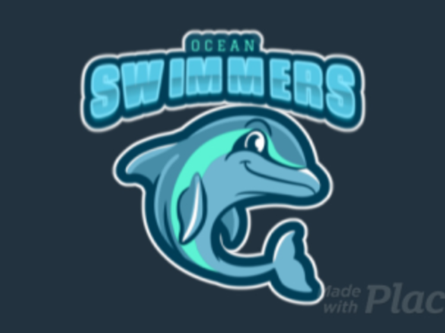 Animated Sports Team Logo Maker Featuring a Happy Dolphin 120qq-2937