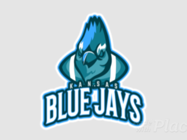 Animated Football Team Logo Creator Featuring a Blue Jay Bird Graphic a245yy-2936