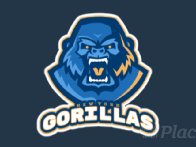 Animated Sports Logo Generator with an Angry Gorilla Graphic 1651q-2964