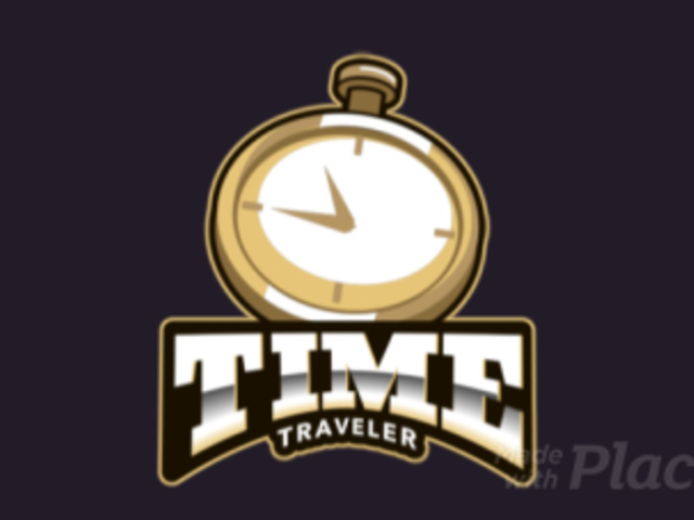 Animated Fantasy Logo Generator with a Clock Graphic 383tt-2964