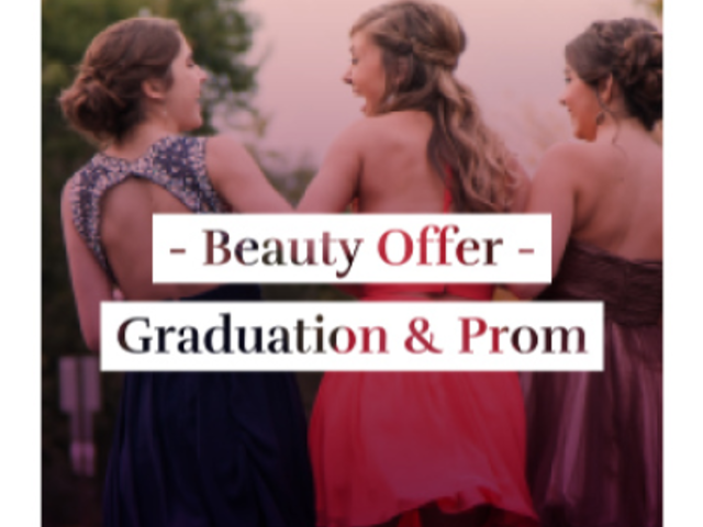 Instagram Video Maker for a Beauty Offer for Prom 875c 1844