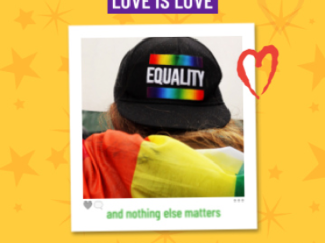 Instagram Video Maker for an LGBT Pride Month Post 1604