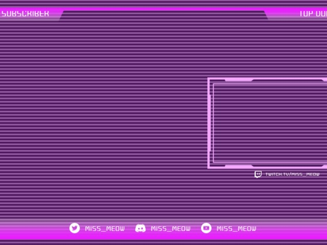 Placeit Twitch Stream Overlay Generator With A Vaporwave Vibe
