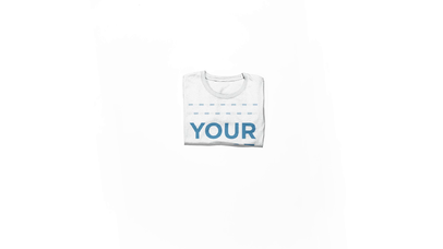 T-Shirt Stop Motion Video Mockup of a Round Neck Tee Folding and Unfolding Over a White Surface a13151-122216