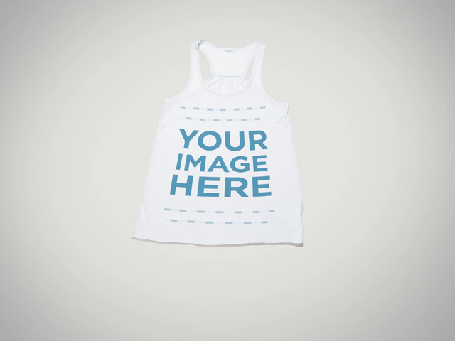 Video Mockup of a Tank Top Being Rolled Up 13149