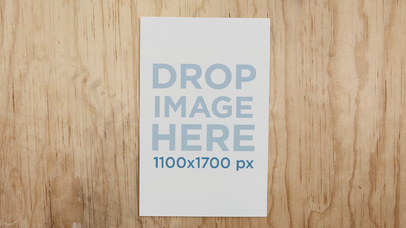 Flyer Stop Motion Mockup With Changing Background a13685