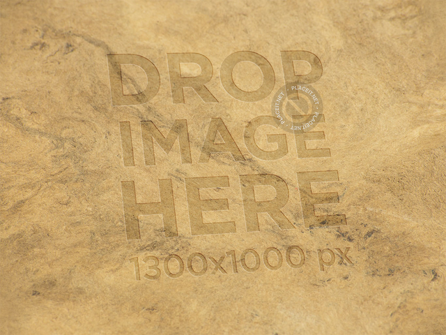 Logo Template on a Recycled Brown Paper Texture a14872