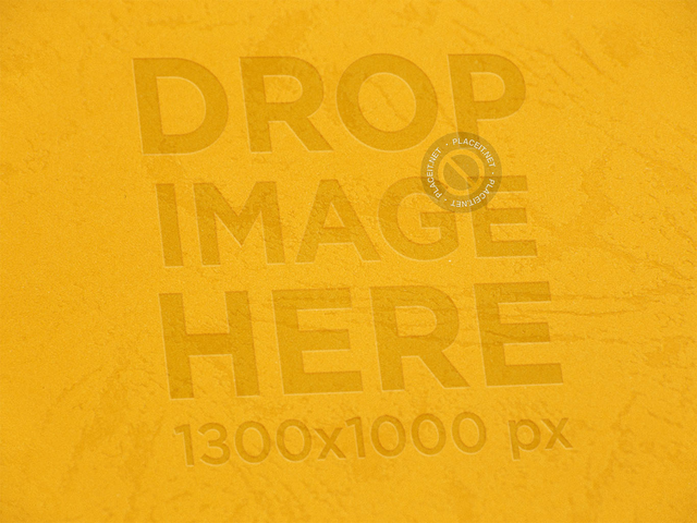 Yellow Paper Texture Template Logo a14876