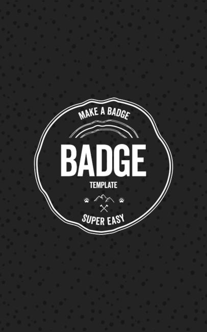Free Circular Badge Logo Template and Generator