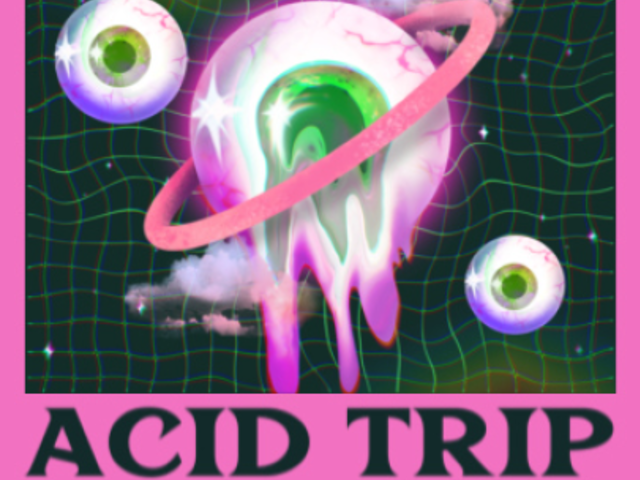 Instagram Post Video Maker for an Acid Music Promo 2675