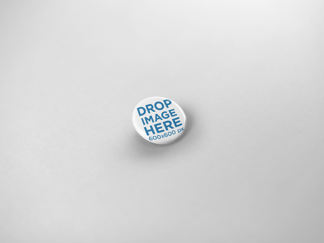 Little Button Template Lying on a Solid Color Surface a15096