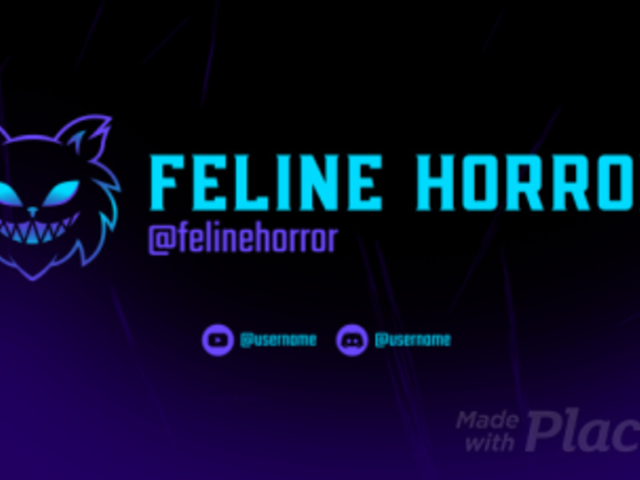 Twitch Starting Soon Screen Video Maker for a Gaming Channel with an Animated Feline Face 2635