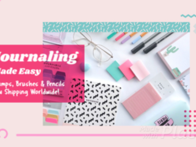 Slideshow Video Maker for a Crafty Journal Tutorial 1797b 2879