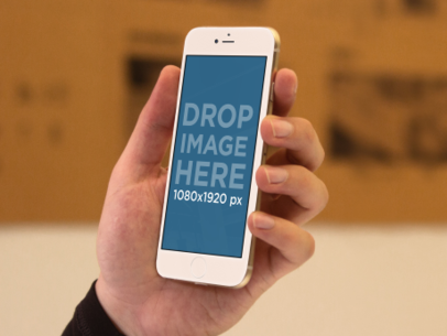 iPhone 6 Mockup Template at an Architecture Firm