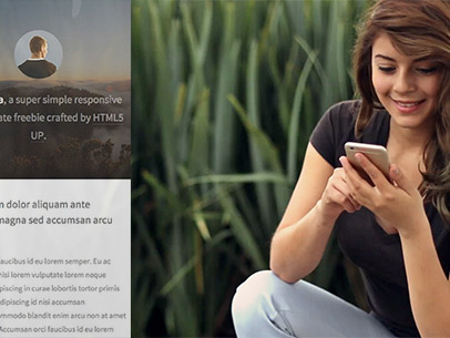 App Demo Video of a Woman Sitting on the Ground a8331