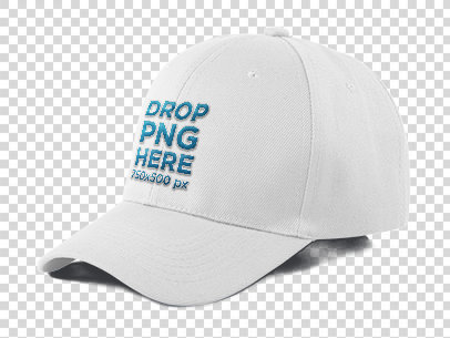 Dad Hat Mockup Over a PNG Background a11707