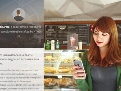 iPhone 6 App Demo Video of a Woman at a Small Dessert Shop a9251