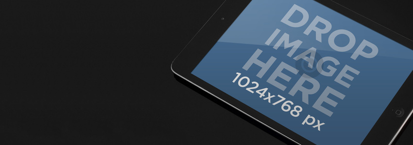 Black Portrait iPad Mini Wide