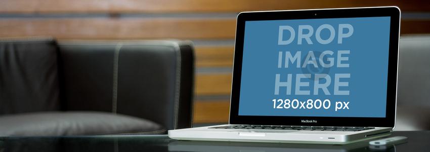 MacBook Pro Business Center Wooden Wall